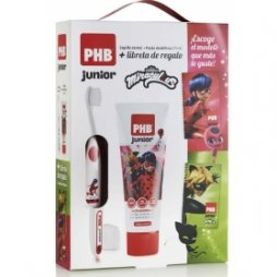 Phb Cepillo Junior+Pasta 75ml+Libreta Ladybug