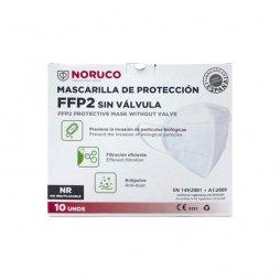 Mascarilla FFP2 Fabricación Española 10 ud