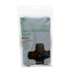 Mascarilla Quirúrgica Tipo IIR Negra 50ud