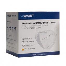 Mascarilla FFP2 Adulto Negra Fabricada en España 30ud