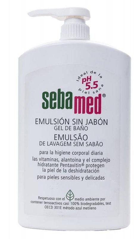 Sebamed Emulsión Gel sin jabón Baño 1L