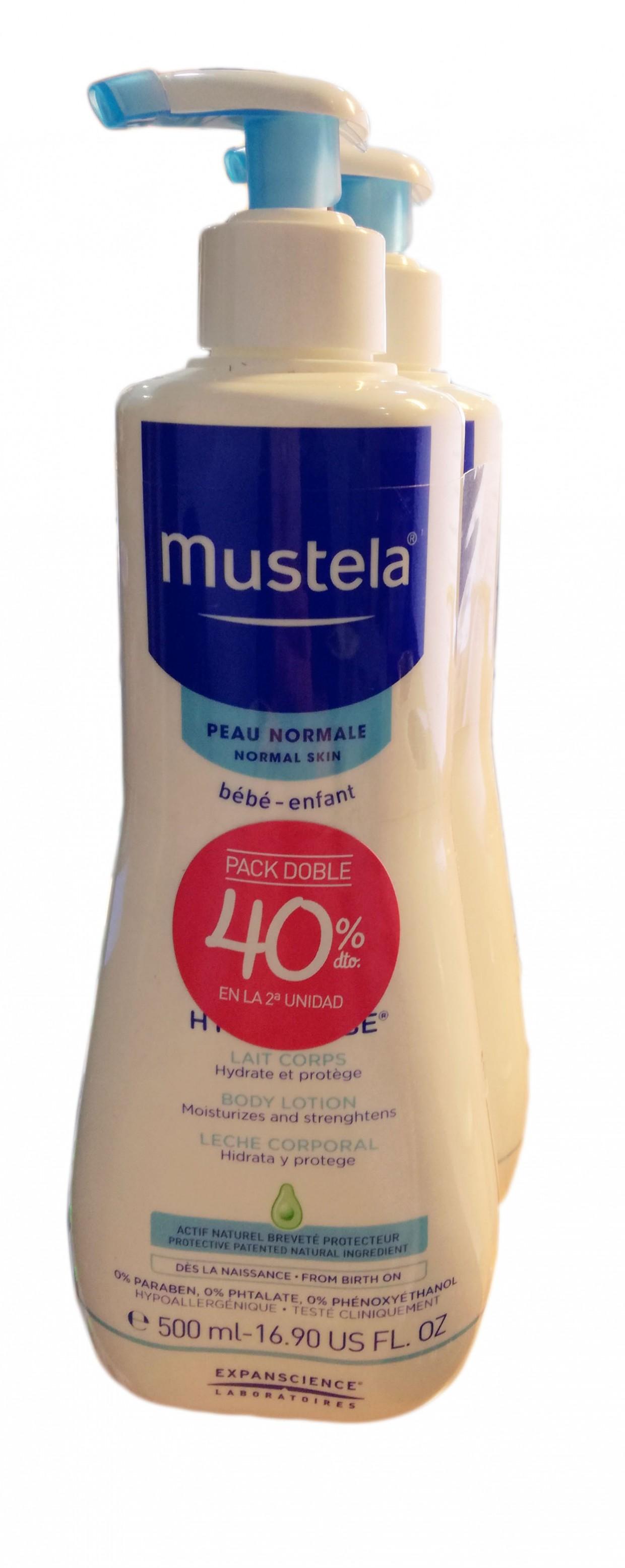 Mustela Hydra Bebe Loción 500ml Duo 2ª Ud 40%